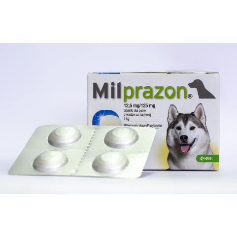 Милпразон 12,5 мг/ 125 мг таблетки от глистов для собак №4