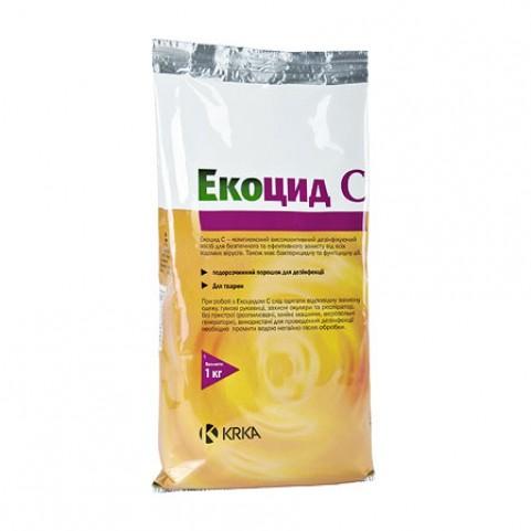Экоцид С  1 кг - порошок для дезинфекции помещений для животных