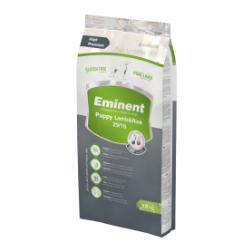Eminent Lamb & Rice безглютеновый корм для щенков, беременных и кормящих сук всех пород 15 кг