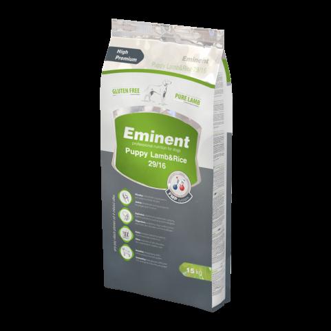 Eminent Lamb / Rice безглютеновый корм для щенков, беременных и кормящих сук всех пород 15 кг