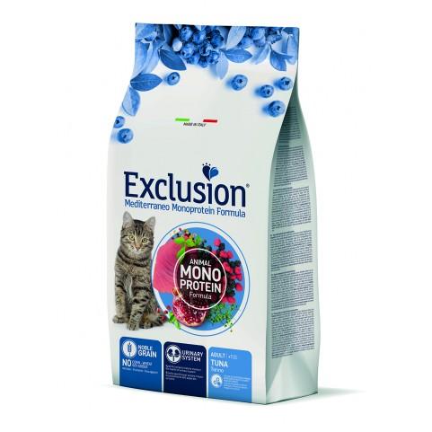 Корм для взрослых котов Exclusion Adult с тунцом 1,5 кг