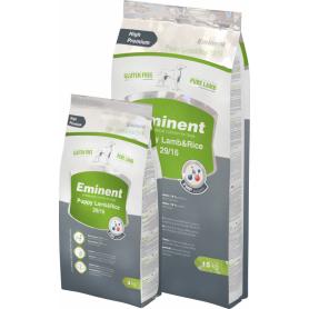 Корм Eminent Lamb / Rice безглютеновый корм для щенков, беременных и кормящих сук всех пород