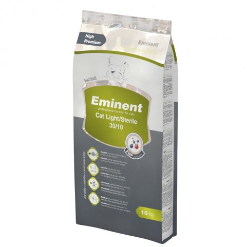 Eminent Cat Light / Sterile корм для стерилизованных кошек и котов при избыточном весе 10 кг