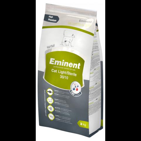 Eminent Cat Light / Sterile корм для стерилизованных котов и кошек при избыточном весе 2 кг