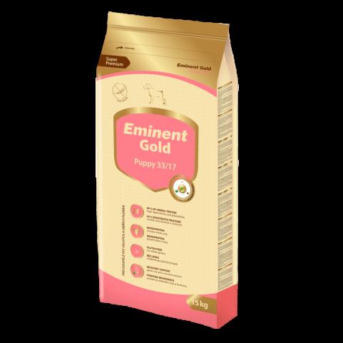 Корм Eminent Gold Puppy для щенков, беременных и кормящих сук мелких и средних пород